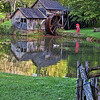 Mabry Mill Reflections 6551 w32