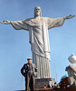 "The Christ statue in Rio.  Helen and I have similiar tastes in monuments. She saw this statue 17 years before I did.  I like her picture <a href=""http://conceptcontrol.smugmug.com/Trips/Overseas/South-America-1979/christ-the-redeemer-rio-de/792673088_zDcZp-XL.jpg"">better than mine.</a>  Her's has a slapdash snapshot feel.  The camera is not level, people are in the way. I remember waiting to get a clean shot. Sometimes it's better to just shot the damn picture."