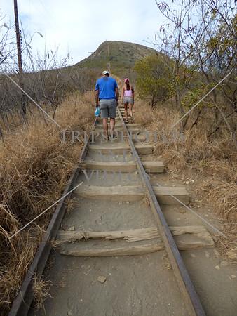 Hiking Koko Head Trail in Hawaii