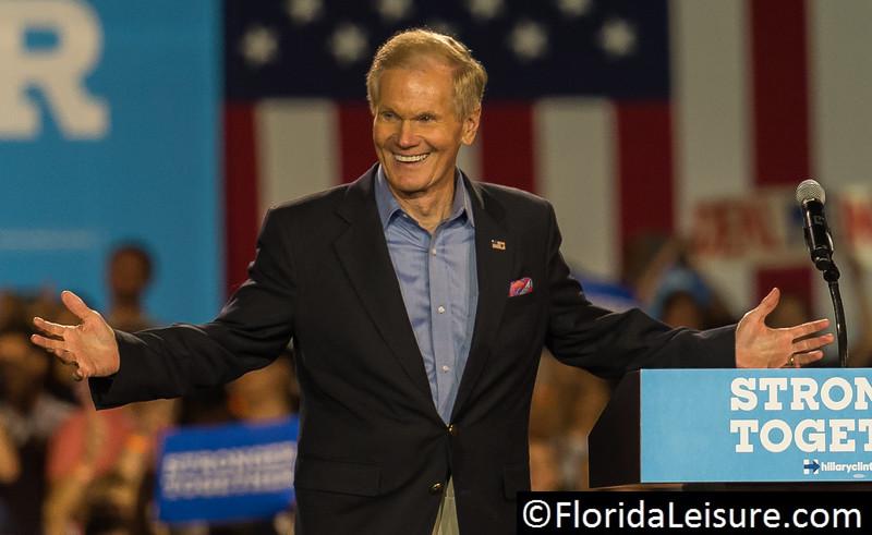 Bill Nelson, Kissimmee, Florida - 8th August 2016 (Photographer: Nigel G Worrall)