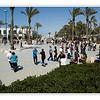Weekly dancing on Ashdod's beach