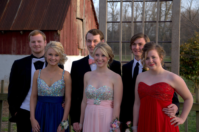 Caleb and Heather, Taylor and Kelsey, Quinn and Holly