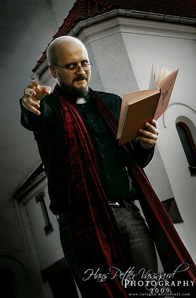 The Bishop  Wanted in more than 4 countries for impersonating a Christian priest, when in reality he's been recruiting members for his own cult, known only as The Red Order. No information has been discovered about this strange man, other than that his name is Sergei Rezinskij. Rumored to posess strong hypnotic powers...