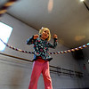 """Evie Miller, 4, has hula hoop skills.<br /> Hula hoopers of all ages and sizes participated in Kristina Sutcliffe's hula class at Kake's Studio in Boulder.<br /> For more photos and a video,  go to  <a href=""""http://www.dailycamera.com"""">http://www.dailycamera.com</a>.<br /> Cliff Grassmick/ April 23, 2011"""