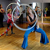 "Kristina Sutcliffe, center, teaches the  group some new moves during her class.<br /> Hula hoopers of all ages and sizes participated in Kristina Sutcliffe's hula class at Kake's Studio in Boulder.<br /> For more photos and a video,  go to  <a href=""http://www.dailycamera.com"">http://www.dailycamera.com</a>.<br /> Cliff Grassmick/ April 23, 2011"