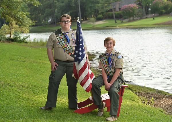 Hunter & Janzen's Eagle Scout Portraits