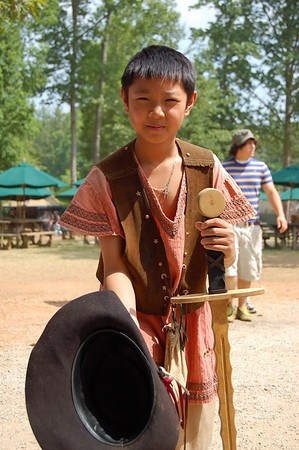 At the Georgia Renaissance Faire - 2006
