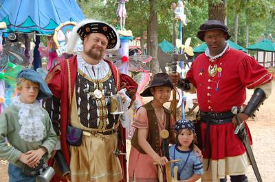 At the Georgia Renaissance Faire - 2006