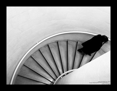 Museum Stairs, Lisbon, Portugal