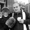 Mark 67/100<br /> <br /> Mark, a meat vendor we met at the Quayside Market, began chatting up my friend Shirley, initially for her warm fur hat. In the end, a marriage proposal was offered. What a character!