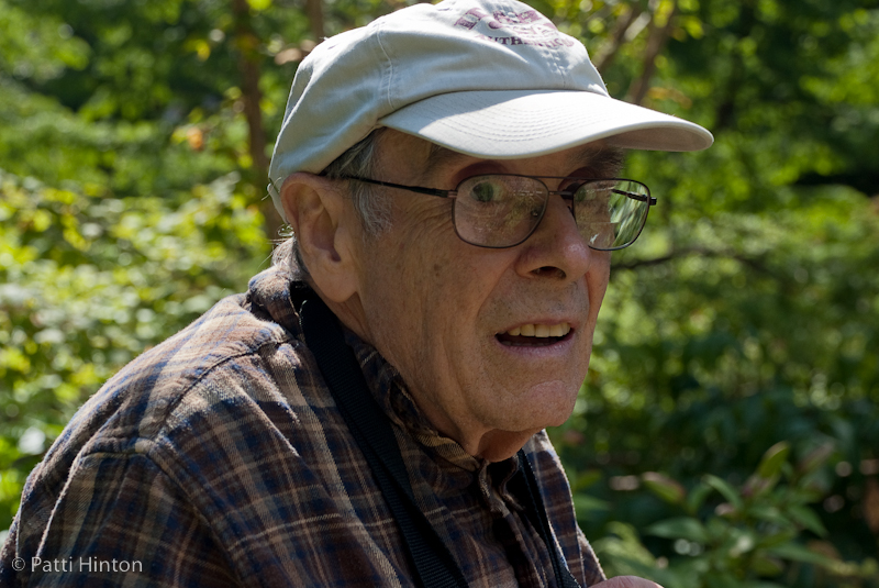 Arthur #82  Arthur was photographing the beautiful flowers in the gardens of Dunvegan Castle on the Isle of Skye when I approached him. He was concerned that he was in my frame when I asked if he'd pose for me. Arthur was very charming and a delight to meet.