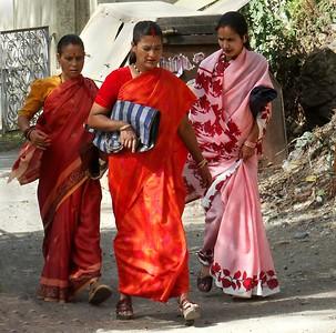 Ladies on a Stroll