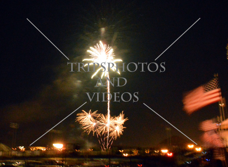 2016 Independence Day fireworks at Auto Speedway in Perris, California.