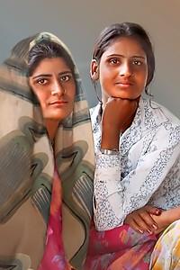 Young Indian Women