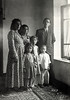 My wife's mother, (tallest woman), with her oldest children and relatives. Iran 1947.