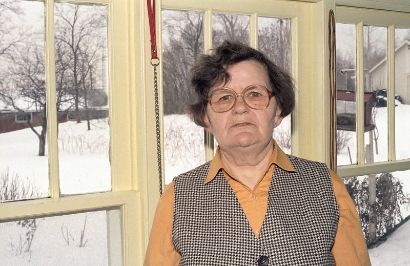 Marion is the maternal grandmother of my kids.  On the day she died there was a beautiful sunset in the winter sky.