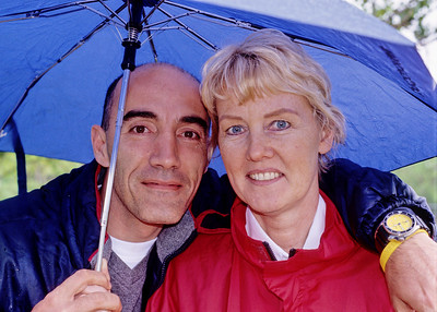 Ann and Reza near the Hogs Back in Ottawa. We video chat with Ann and Reza fairly often but the other day we were wondering when was the last time we saw them in person. 2005 was the last time I saw them in person. Mali has seen them more recently.