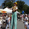Juggler on stilts - Milton, Ontario