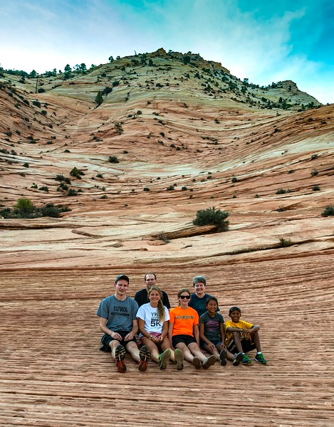 Iowa Family in Zion