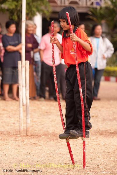 A Tahsang Village Athlete