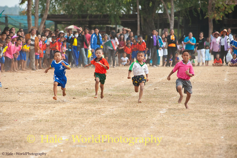 Racing Towards the Finish Line In Isaan