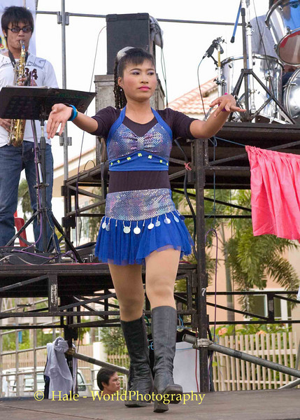 Go-Go Dancer Performing to Luuk Thung Music