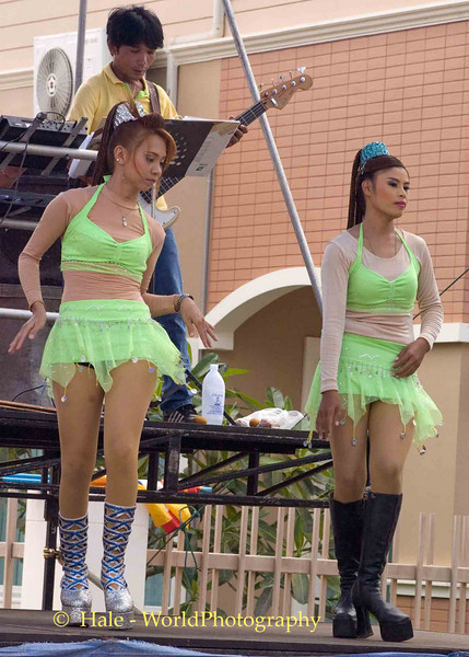 Isaan Go-Go Dancers Wearing Their Go-Go Boots