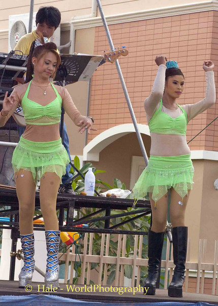 Go-Go Dancers Performing On An Isaan Afternoon