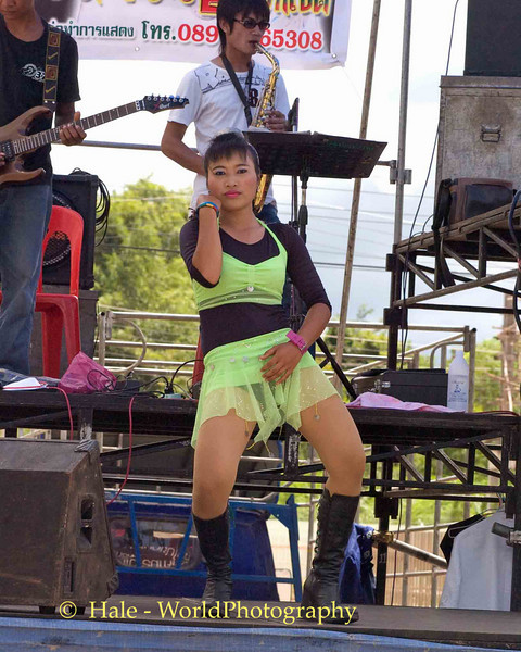 Isaan Go-Go Dancer Performing In Udonthani, Thailand