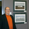 Some of my pictures of ships in the Haverford School art show. 3/11/11 Got good reviews !!