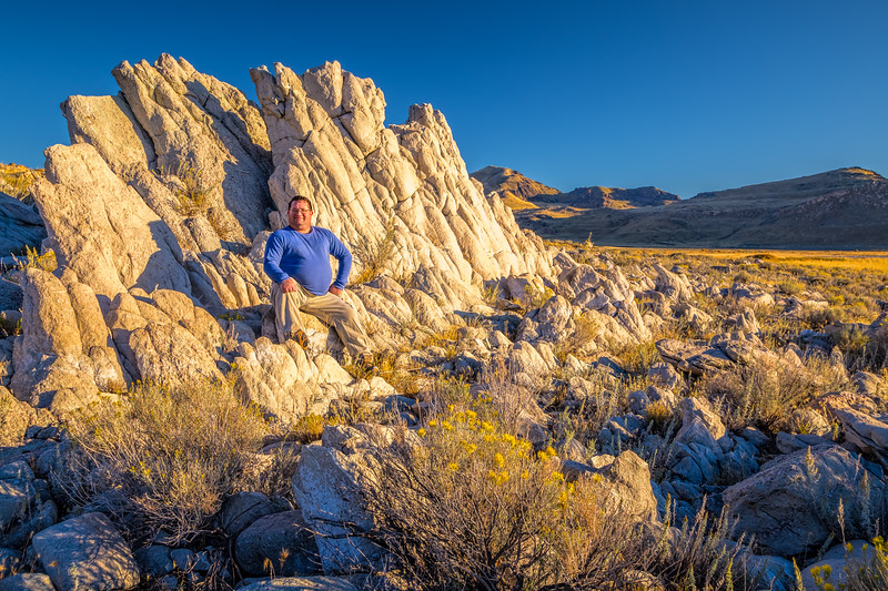 Out on Antelope Island