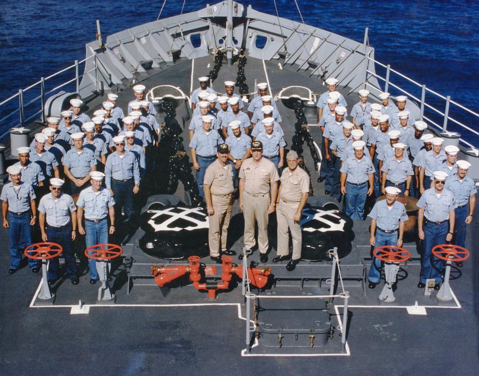 U.S.S. Proteus AS19 Deck Department