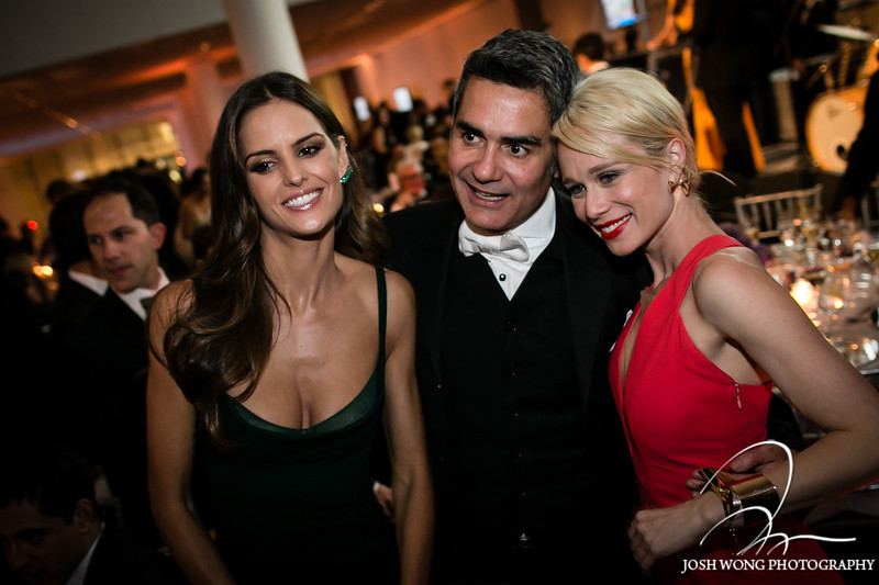 Izabe Goulart attends the Brazil Foundation Gala at the MoMa in New York City on Sept 18, 2013