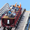 J-Mag/T. Rob Brown<br /> Riders prepare for the 81-degree drop, the steepest in the world for a wooden coaster, on Outlaw Run at Silver Dollar City in Branson.