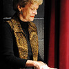"JMag/T. Rob Brown<br /> Director and pianist Cecie Fritz plays music during a dress rehearsal for the Joplin Little Theatre's ""Let's Swing!"" The revue is a tribute to the music of the 1940s."