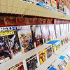 J-Mag/T. Rob Brown<br /> Comics are one of the key items for sale at Hurley's Heroes. Previously located near 10th and Maiden Lane, the 2011 tornado caused Hurley to move to a smaller location, and has now re-opened in the new location in the 800 block of South Main Street.