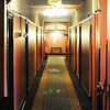J-Mag/T. Rob Brown<br /> A long hallway inside the Crescent Motel in Eureka Springs, Ark.