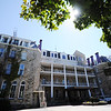 J-Mag/T. Rob Brown<br /> The front side of the Crescent Hotel in Eureka Springs, Ark.