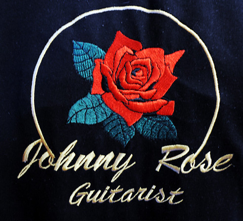 JMAG/T. Rob Brown<br /> The logo on the back of Johnny Rose's shirt.