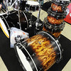 J-Mag/T. Rob Brown<br /> A drum set at the new Glory Days Music location, 420 North Range Line Road in Joplin.