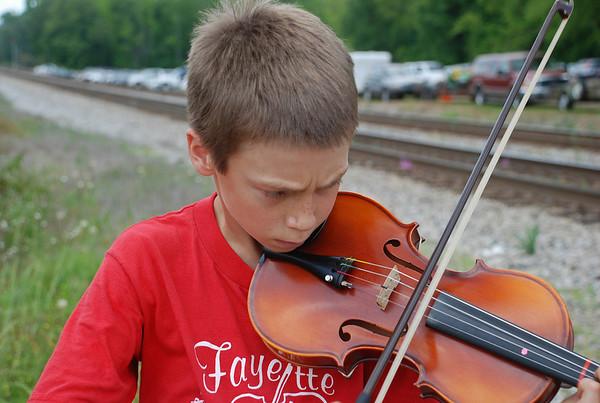 Fiddler, Cotton Pickin' Festival 2008, Gay, GA