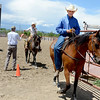 "J.T. Smith, right,  Jack Wheeler's grandson, finishes up a ride during the Easy Riders 4-H competition. Alyssa Olson and McKayla Lafferty,  are following behind.<br /> Jack Wheeler, a 75-year-old Erie man who died in February, was very well-known in horse riding circles and among organizers and attendees of the Boulder County Fair. Wheeler was a leader of the Cloverleaf Riders 4-H Club for 45 years and taught many area kids how to ride. His grandsons, daughter and wife and still part of the 4-H club.<br /> For more photos and a video of Jack's legacy, go to  <a href=""http://www.dailycamera.com"">http://www.dailycamera.com</a>. or  <a href=""http://www.timescall.com"">http://www.timescall.com</a>.<br />  Cliff Grassmick / July 22, 2012"