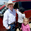 "Tristan Smith, Jack Wheeler's grandson, and Paige Lafferty, stop for a photo.<br /> Jack Wheeler, a 75-year-old Erie man who died in February, was very well-known in horse riding circles and among organizers and attendees of the Boulder County Fair. Wheeler was a leader of the Cloverleaf Riders 4-H Club for 45 years and taught many area kids how to ride. His grandsons, daughter and wife and still part of the 4-H club.<br /> For more photos and a video of Jack's legacy, go to  <a href=""http://www.dailycamera.com"">http://www.dailycamera.com</a>. or  <a href=""http://www.timescall.com"">http://www.timescall.com</a>.<br />  Cliff Grassmick / July 22, 2012"