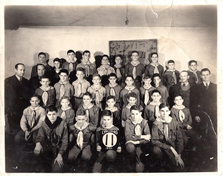 Boy Scout Troop, St. John's Church (O 2016.16.15 AB)