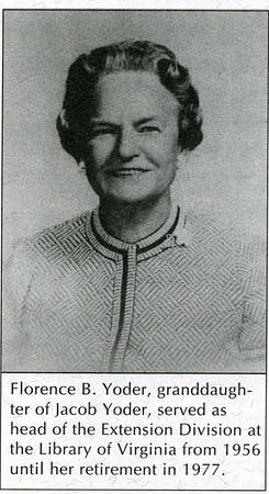 Florence B. Yoder (4187)