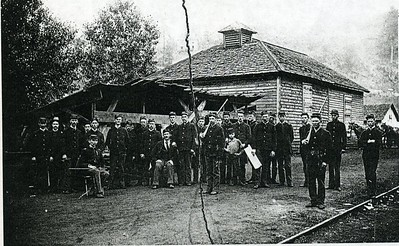 A 1865 image of Union Soldiers Occupying Camp Davis in Lynchburg (4181)