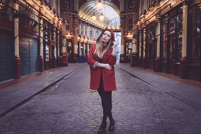 Red in Leadenhall Market