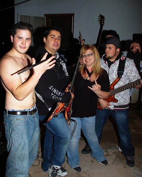 Jaime With the Band