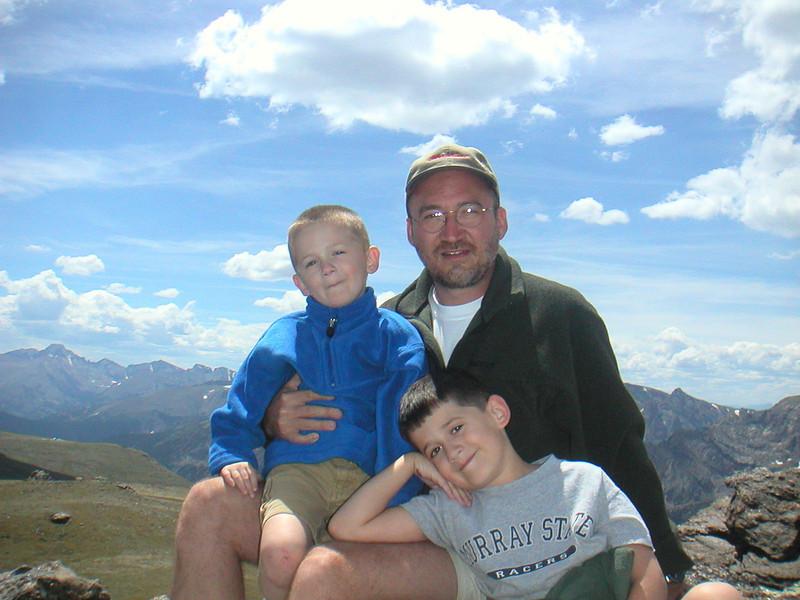 Sam, Greg, Jake - Rocky Mountain National Park