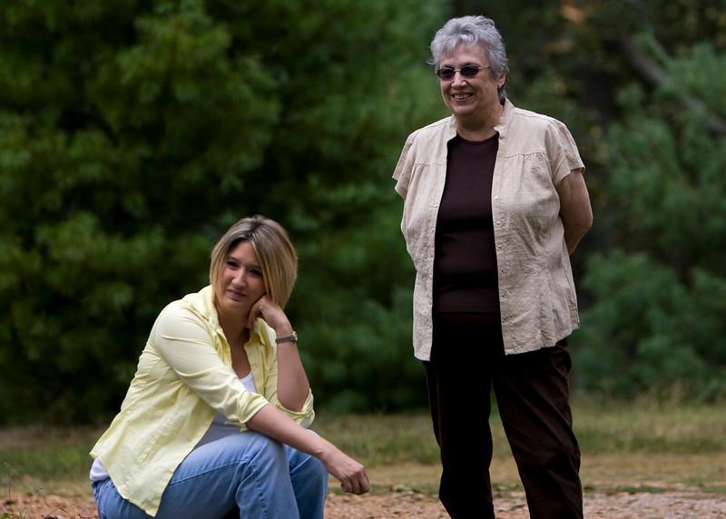 Gretchen and Mama Pete